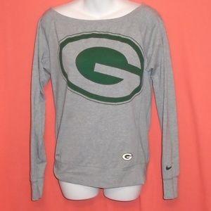 Nike Greenbay Packers NFL Long Sleeve Women's